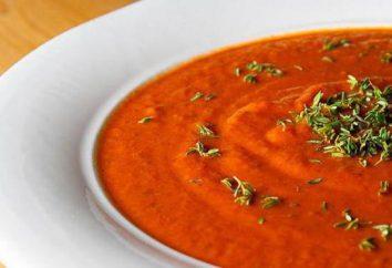 Köstliche Tomatencremesuppe