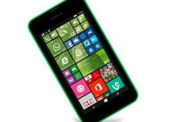 """Telefon """"Nokia Lyumiya 530"""": opinie, specyfikacja"""