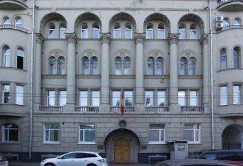 Embaixada da Quirguistão em Moscou: informação útil