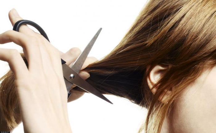 Taglio dei capelli sogno