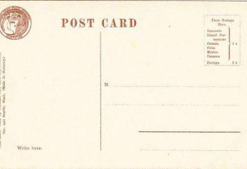 Co jest wielkości standardowej pocztówki?