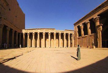 Culte du Temple d'Horus à Edfou – un monument portant la civilisation à l'époque de l'Egypte ancienne
