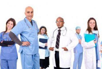 catégories de qualification des médecins: description et règles