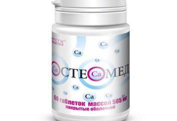 """Le médicament """"Osteomed"""": commentaires, instructions d'utilisation"""