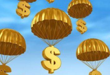 « Parachute doré » – qui sont censés verser une indemnité. La taille du « parachute doré »