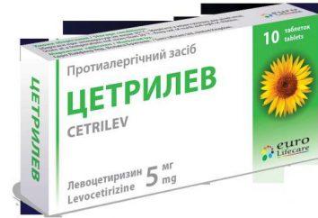 « Tsetrilev »: mode d'emploi, la description des médicaments et commentaires des internautes