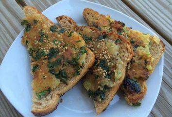 Gorąca kanapka z ziemniakami na patelni: Wariacje dania