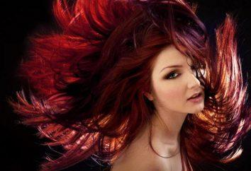 Couleur Bourgogne de cheveux: caractéristiques et coloration