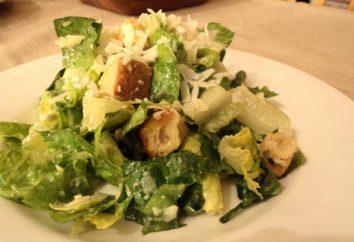 Wie mit Croutons schnell und lecken Salat aus Chinakohl machen