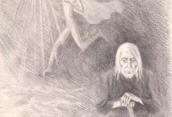 L'immagine di una donna anziana Izergil come base di integrità artistica Gorky storia