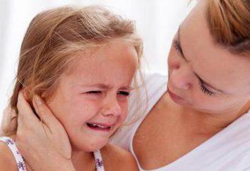 Ból ucha dziecko: pierwsza pomoc. Lecznicze środki zaradcze ludowe i narkotyki