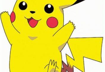 caracteres Pokémon. Lista do Pokemon mais popular.