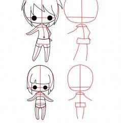 Jak narysować lalkę: kilka przydatnych pociągnięć