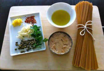 Pâtes au thon en conserve: recettes