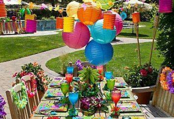 Hawajskie party dla Twojego dziecka: skrypt