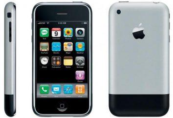 Ewolucja iPhones od 1 do 7. Opis, historia, funkcje i recenzje