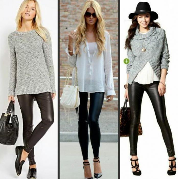 best website 80407 20f4c Da cosa indossare leggings? vestiti alla moda per le ragazze