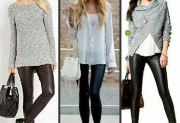 Od czego nosić legginsy? Modne ubrania dla dziewczynek