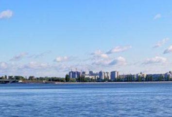 Voronezh embalse: fotos, la historia de la creación, localización, profundidad