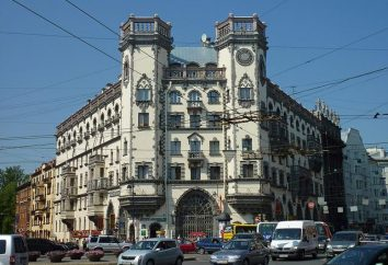 Kamennoostrovsky perspektywa – zabytki i ulice Petersburga