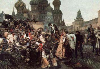 crianças Boyar (filhos de cavaleiros). Exército do Estado Russo