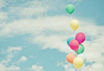 Eine Vision von einem Ballon. Was Traum? lesen sonnik