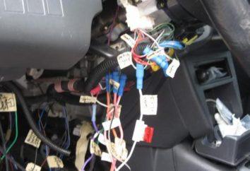"""Como se está instalando una alarma de coche en la """"Gazelle"""""""