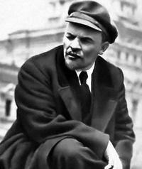 Conforme descrito o líder dos bolcheviques de seus colegas