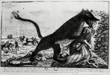 Bestia de Gévaudan: fotos, leyendas versión, una explicación científica, la primera víctima