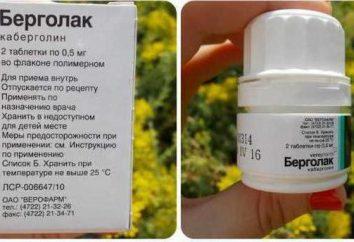 """Tabletki """"Bergolak"""": opinie, instrukcje, ceny"""