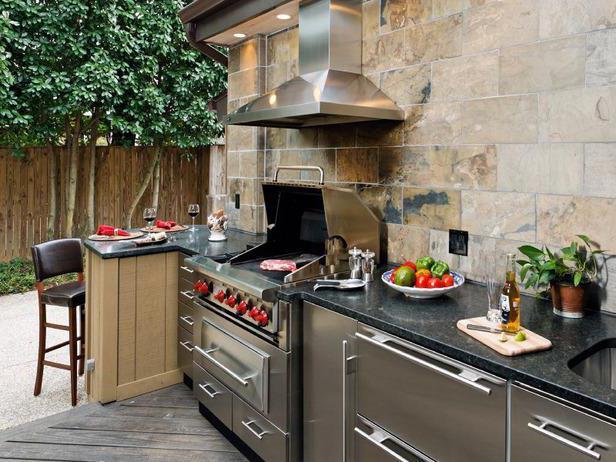 Hottes et des barbecues comment faire une hotte pour le for Gemauerte outdoorkuchen