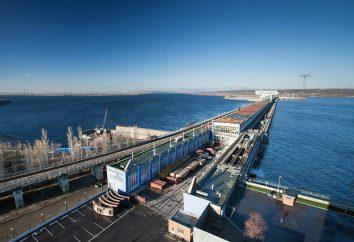 Saratov centrale idroelettrica sul Volga