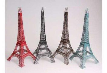 Comment faire la Tour Eiffel à partir du papier rapidement et facilement?
