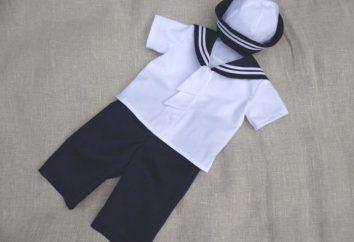¿Cómo hacer un traje marinero con tus propias manos?