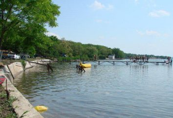 Novotroitskoye reservatório – recreação e pesca