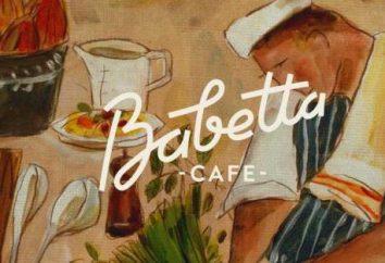 "Cafe ""Babette"" Myasnitskaya, 15: menù"