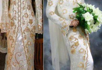 Suknie ślubne muzułmańskie: cechy, jak wybrać akcesoria