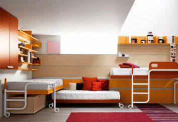 Mobili per adolescenti camere: scegliere l'opzione migliore