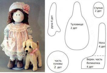 Uszyć wspaniały drobiazg pomaga lalki Deseń śnieżkami w pełnym rozmiarze!
