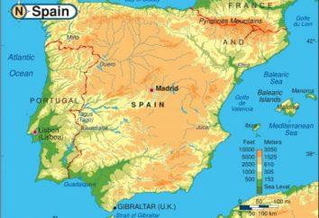 La position géographique de l'Espagne – l'empire du soleil couchant