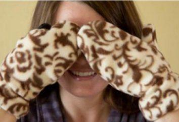 luvas padrão de lã. Como a costurar luvas do velo