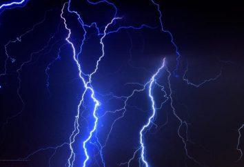 Czy znasz nazwę naturalnego wyładowania elektrycznego?