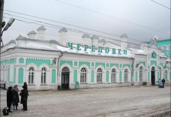 Cherepovets – quelle région?