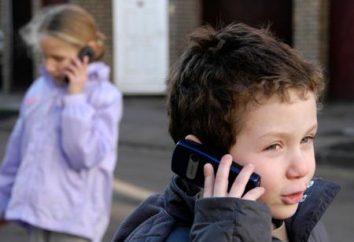 Como escolher um telefone celular para seu filho?