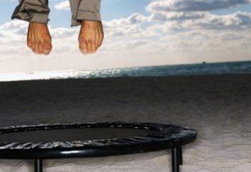 Profesjonalne trampolina, sport, dom, dzieci: Cechy wybór