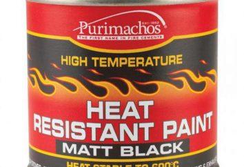 Feuerbeständige Farbe für Metall: Eine Übersicht, Spezifikationen, Hersteller und Bewertungen