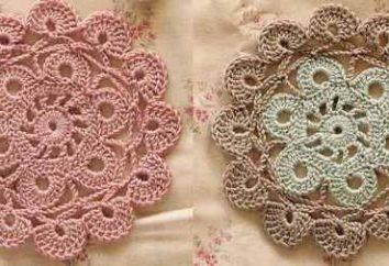 Crochet per i principianti: rotondo, rettangolare