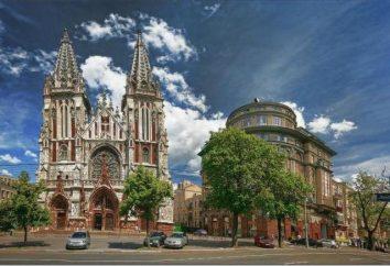 Katedra St. Nicholas rzymskokatolicka w Kijowie: jak się tam dostać?