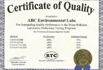 Certyfikat jakości produktów – o co chodzi?