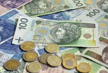 Salários na Polônia, em média. Os índices mínimos e máximos dos salários por parte da indústria